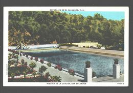San Salvador - Piscina De La Chacra - Linen - El Salvador