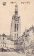 AK Courtrai - L'Eglise St-Martin - Feldpost - 1917 (32223) - Kortrijk