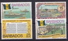 Barbados 1976 MNH**- Independence - Barbados (1966-...)