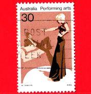 AUSTRALIA ~  Usato ~ 1977 - Arte Dello Spettacolo - Teatro - Performing Arts - Drama - 30 - 1966-79 Elizabeth II