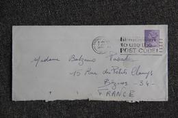 Lettre De GRANDE BRETAGNE (CROYDON) Vers FRANCE - Covers & Documents