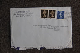 Lettre De GRANDE BRETAGNE (LONDRES) Vers FRANCE - Covers & Documents