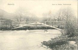 Cpa Postkarte MALMEDY - Pont Du Diable, Teufelsbrucke, Verlag Florimond Robert - Malmedy