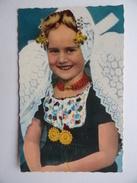 ZEELAND HOLLAND Meisje In Zeewse Dracht Fillette En Costume De Zélande Publicité Café J.Bécu GROEDE OOSTBURG - Autres