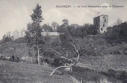 AK Beaumont - La Tour Salamandre De Thinmont - Feldpost Landsturm Bataillon Osnabrück - 1. WK  (32227) - Beaumont