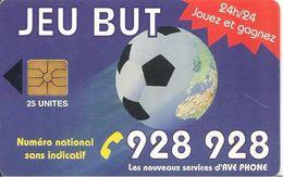 CARTE+PUCE-MAROC-AVE PHONE-25U-GEM-JEU BUT-UTILISE-TBE - Maroc