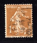 N° 277B - 1906-38 - Semeuse Camée - 1906-38 Säerin, Untergrund Glatt