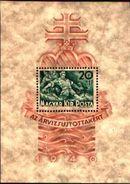 85539)   HUNGARY - UNGHERIA - BF.7 - 1940 - Emesso A Profitto Delle Vittime Di Inondazioni -  FOGLIETTO MNH - Ungheria