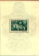 85540)   HUNGARY - UNGHERIA - BF.n.8 - 1940 - 500° Di Nascita Del Re Mathias Hunyadi Corvin-  FOGLIETTO MNH - Ungheria