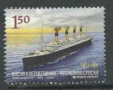 Bosnië- Servische Republiek, Yv 520 Jaar 2012,  Gestempeld, Zie Scan - Serbie