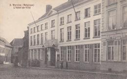 AK Wervicq - L'Hôtel-de-Ville - Feldpost - 1. WK (32233) - Wervik