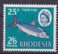 Rhodesia 1968 MH - FISH - Fische
