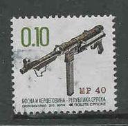 Bosnië- Servische Republiek, Yv 539 Jaar 2013,  Gestempeld, Zie Scan - Serbie