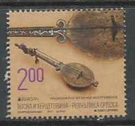 Bosnië- Servische Republiek, Yv 577 Jaar 2014,  Gestempeld, Zie Scan - Serbie