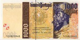 VF NOTA 1000 ESCUDOS PEDRO ALVARES DE CABRAL 07 NOV. 2000 UNC - Portugal