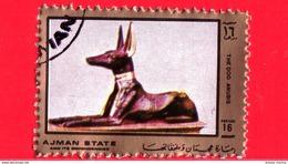Nuovo - AJMAN - 1972 - 50° Anniversario Scoperta Della Tomba Di Tutankhamon - Anubis - 16 - Ajman
