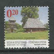 Bosnië- Servische Republiek, Yv 585 Jaar 2014,  Gestempeld, Zie Scan - Serbie