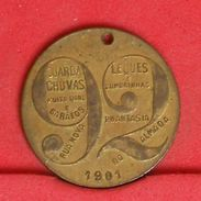 PORTUGAL   1901 - TOKEN - 2,9 GRS 21,5MM    - (Nº19599) - Professionals / Firms