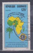 1989 Gabon - Lions Club - Gabon (1960-...)