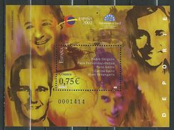Spain/Espagne - 2002 World Youth Philatelic Exhibition Espana 2002 Salamanca - Sports.S/S. MNH - 2001-10 Ungebraucht