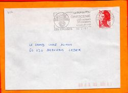 VENDEE, Les Epesses, Flamme SCOTEM N° 7122 - Postmark Collection (Covers)