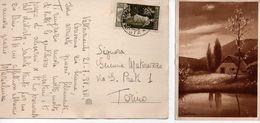Italy Italia 1938 Cartolina Bertiglia Da Valtournanche Bimillenario Augusteo - 1900-44 Vittorio Emanuele III