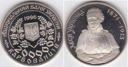 Ukraine - 200000 Karbovanciv 1996 UNC Lesya Ukrainka Lemberg-Zp - Ucrania