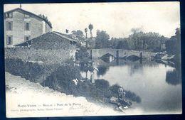 Cpa Du 87  Bellac Pont De Pierre    Sep17-86 - Bellac