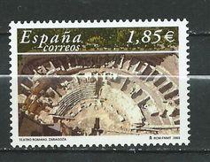Spain/Espagne -  2003 The Roman Theatre Of Zaragoza. MNH - 2001-10 Ungebraucht