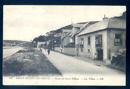 Cpa Du 22  Saint Michel En Grève Route De Saint Efflam -- Les Villas     Sep17-86 - Saint-Michel-en-Grève