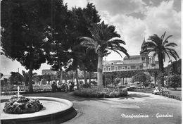 MANFREDONIA - GIARDINI - B/N - N/V - ANIMATA - Manfredonia