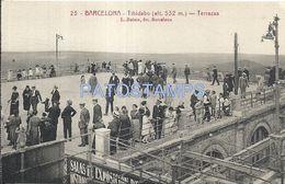 83901 SPAIN ESPAÑA BARCELONA CATALUÑA TIBIDABO TERRAZAS POSTAL POSTCARD - Spain