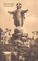 Grotte N.-D. De Lourdes - La Statue Du Sacré-Coeur. - Jette