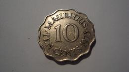 MONNAIE MAURICE 10 CENTS 1975 - Mauritius