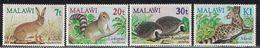 Malawi. 1984. Animals. MNH Set. SCV = 6.50 - Stamps