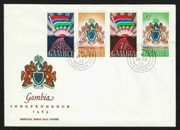 Gambia  - Cover #1 Used - Unaddressed FDC - Gambia (1965-...)