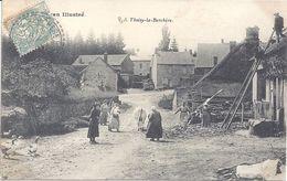 21 - MORVAN Illustré - Thoisy-la-Berchère - Animation - Circulé - Autres Communes