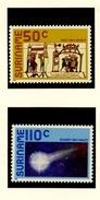 ESPACE - Comète De Halley - Surinam 1986 Y&T N°1038 à 1039 *** - Space