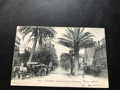 2614 - HYERES Boulevard Des Palmiers - 1902 Timbrée - Hyeres