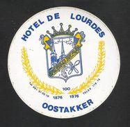 OOSTAKKER - HOTEL DE LOURDES 100J. (S 1090) - Autocollants