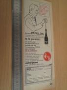 Page De Revue Des Années 60/70 : PUBLICITE PORTE-CLEF MERE PICON , Format : 1/2 Page A4 - Porte-clefs