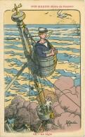 Illustrateur. N° 42784 . Nos Marins.n ° 64. Gervese.cachet Militaire - Gervese, H.