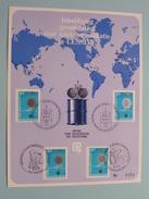 Inhuldiging Grondstation Voor Telekommunikatie Te LESSIVE N° 6930 - 1972 - R.T.T. ( Zie Foto Voor Detail Aub ) ! - Stamped Stationery