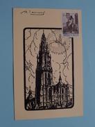 GROOT ANTWERPEN ( Kathedraal ) V-B-P ( Lauwers ) : 8-5-1971 / 2000 Antwerpen ! - Marcophilie