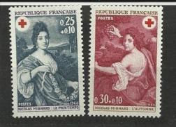 FRANCE      N° YVERT  :   1580/1581             NEUF SANS CHARNIERE - France