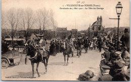89 VILLENEUVE SUR YONNE - Cavalcade Du 07 Mai 1922, Tête Du Cortège - Villeneuve-sur-Yonne