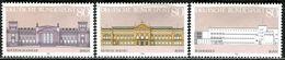 BRD - Michel 1287 / 1289 Einzeln Aus Block 20 - ** Postfrisch (C) - Gebäude Der BRD - [7] West-Duitsland