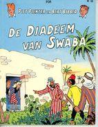 Piet Pienter En Bert Bibber - De Diadeem Van Swaba (1ste Druk In Kleur) 1986 - Piet Pienter En Bert Bibber