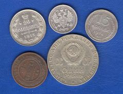 Russie  5  Pieces - Russia