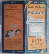 CARTE GÉOGRAPHIQUE Michelin - N° 73 - CLERMONT Fd / LYON - N° 2655-26 - Roadmaps